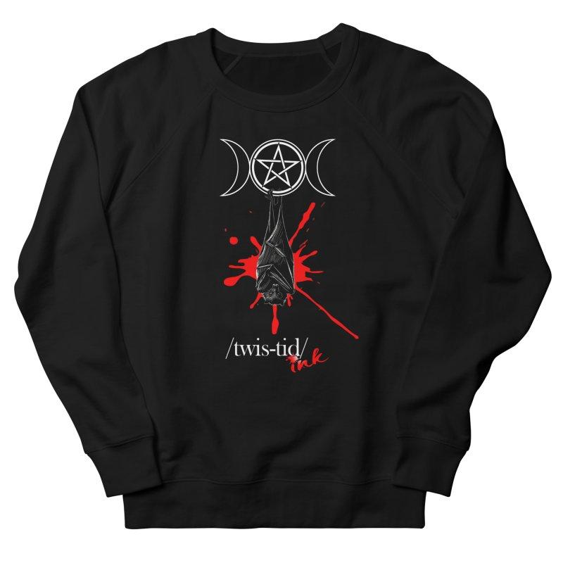Twistid Bat Men's Sweatshirt by Twistid ink's Artist Shop