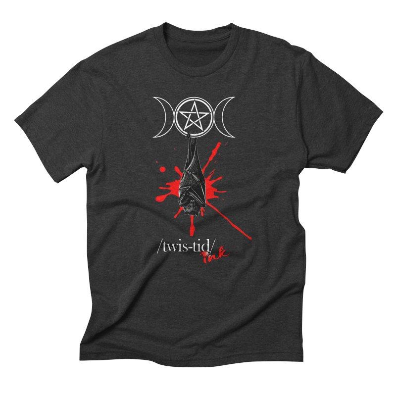 Twistid Bat Men's T-Shirt by Twistid ink's Artist Shop