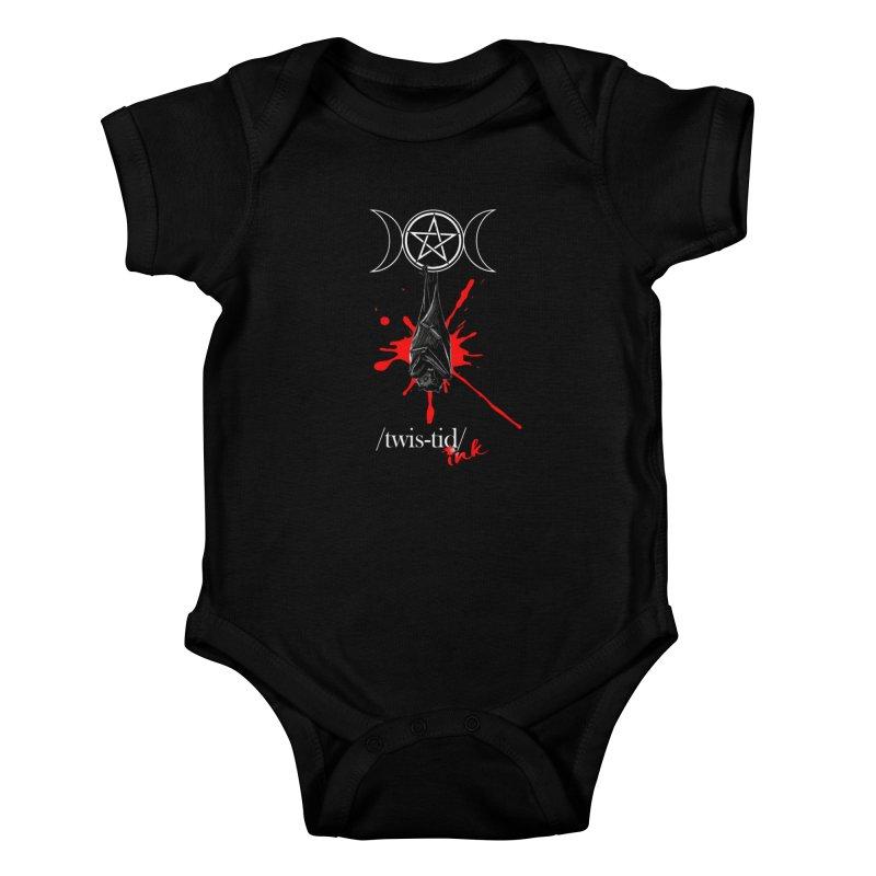 Twistid Bat Kids Baby Bodysuit by Twistid ink's Artist Shop