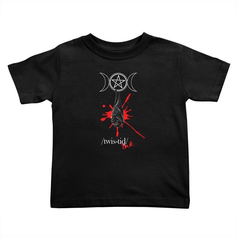 Twistid Bat Kids Toddler T-Shirt by Twistid ink's Artist Shop