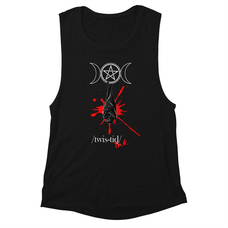 Twistid Bat Women's Tank by Twistid ink's Artist Shop