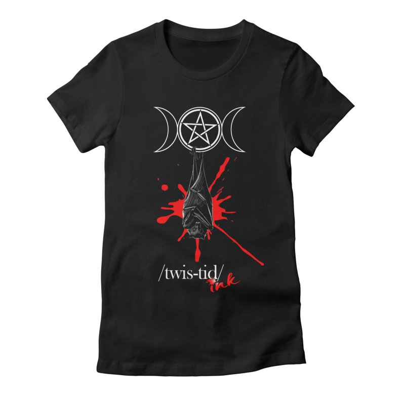 Twistid Bat Women's T-Shirt by Twistid ink's Artist Shop