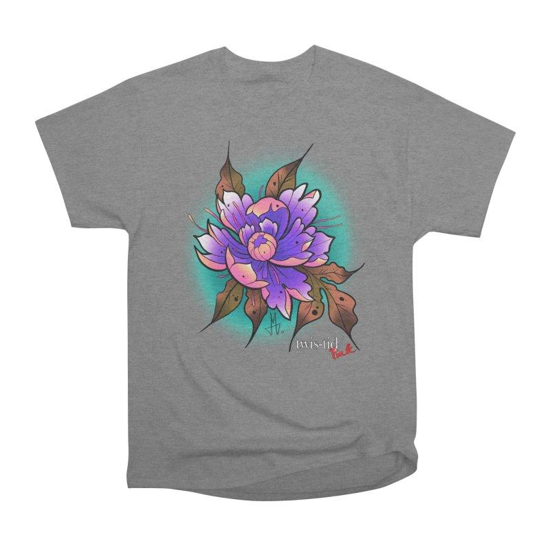 Twistid Flower pink n purple Women's T-Shirt by Twistid ink's Artist Shop
