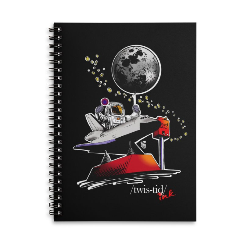 Twistid Space Accessories Notebook by Twistid ink's Artist Shop