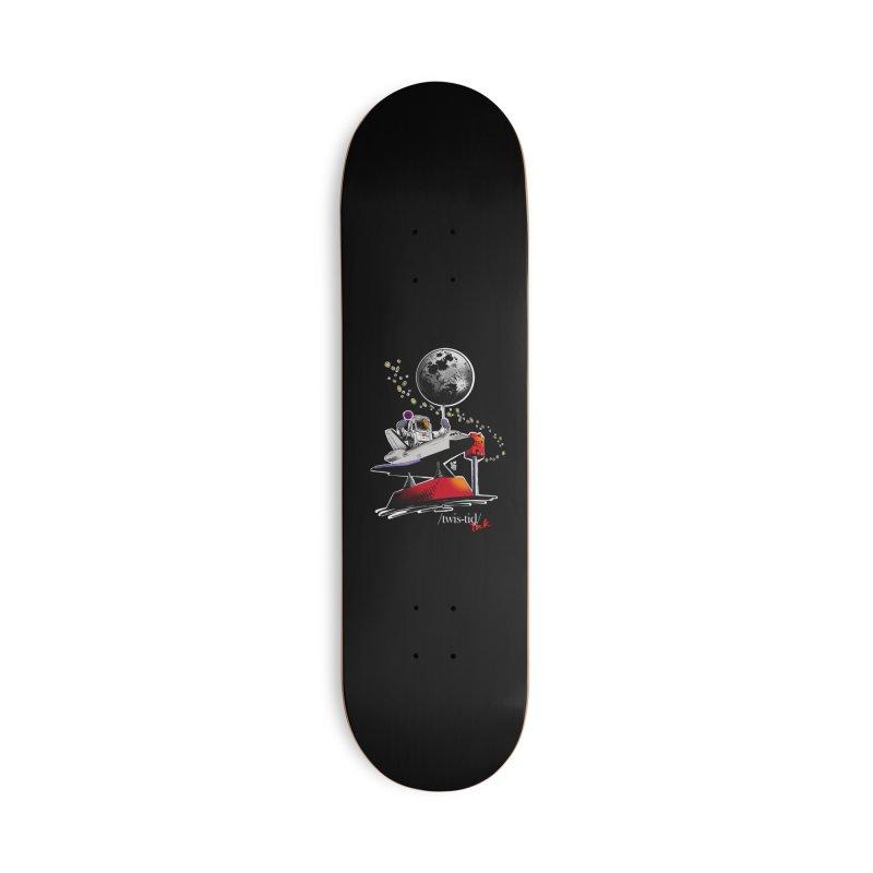 Twistid Space Accessories Skateboard by Twistid ink's Artist Shop