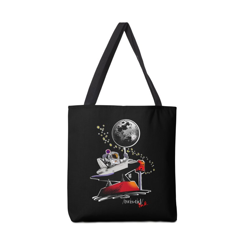 Twistid Space Accessories Bag by Twistid ink's Artist Shop