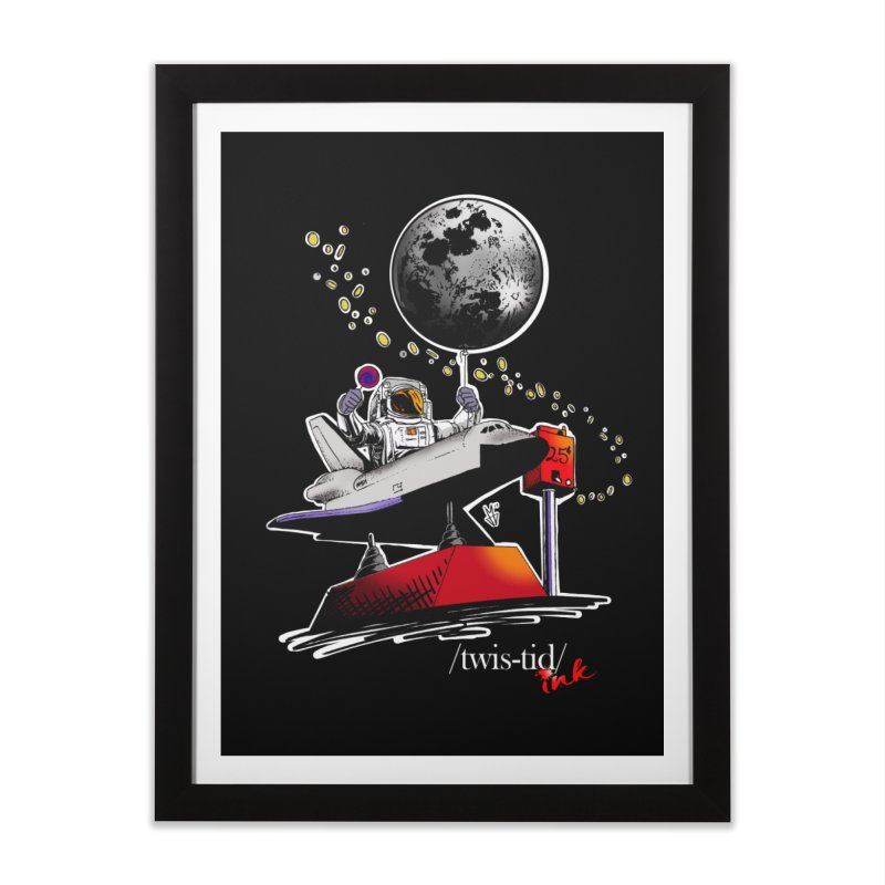 Twistid Space Home Framed Fine Art Print by Twistid ink's Artist Shop