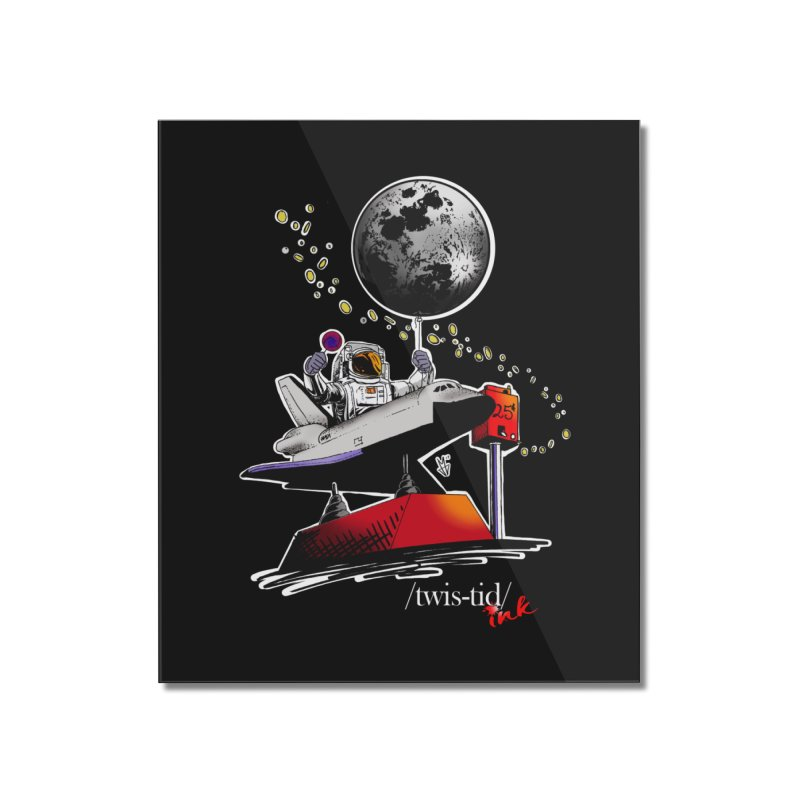 Twistid Space Home Mounted Acrylic Print by Twistid ink's Artist Shop