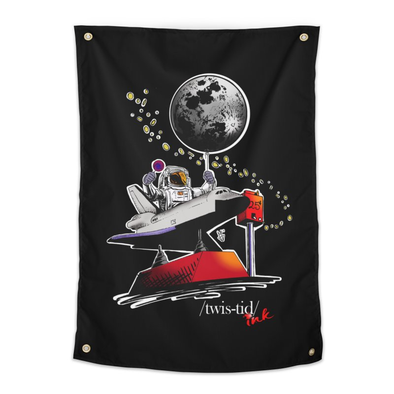 Twistid Space Home Tapestry by Twistid ink's Artist Shop