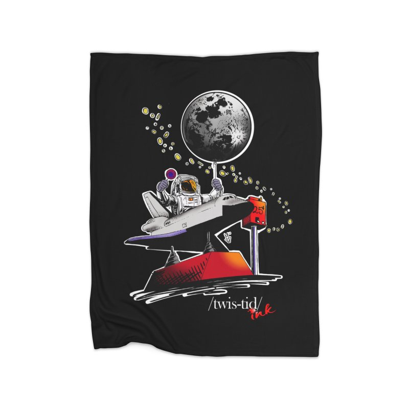 Twistid Space Home Blanket by Twistid ink's Artist Shop