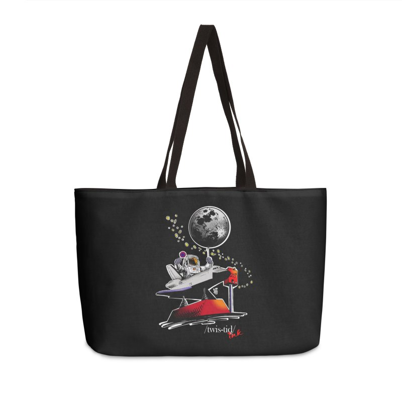 Twistid Space Accessories Bag by Twistid ink's Artist Shop