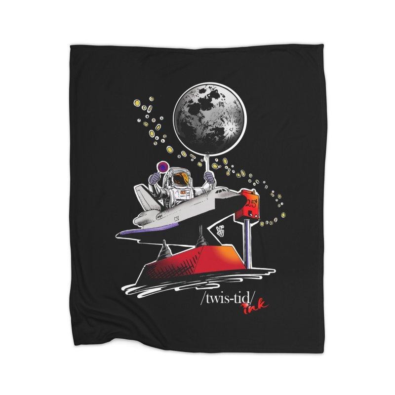 Twistid Space Home Blanket by Twistid ink's Artist Shop