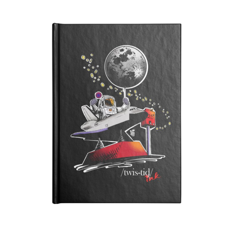 Twistid Space Accessories Blank Journal Notebook by Twistid ink's Artist Shop