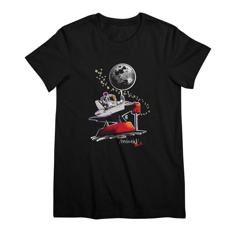 Twistid Space Women's Premium T-Shirt by Twistid ink's Artist Shop