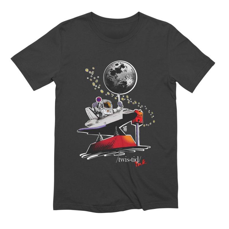 Twistid Space Men's Extra Soft T-Shirt by Twistid ink's Artist Shop