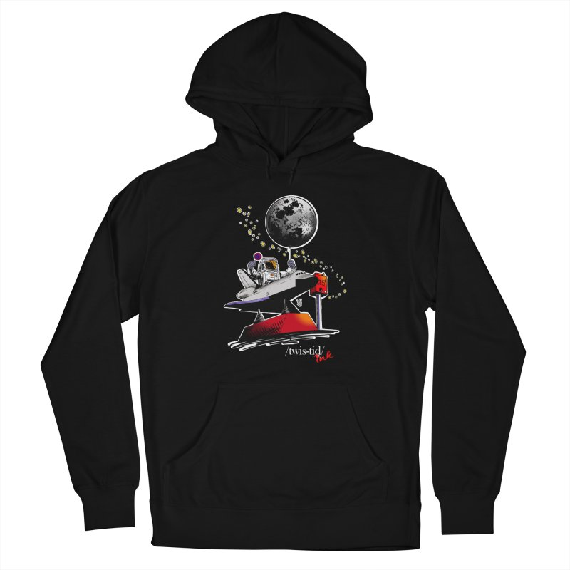 Twistid Space Women's French Terry Pullover Hoody by Twistid ink's Artist Shop