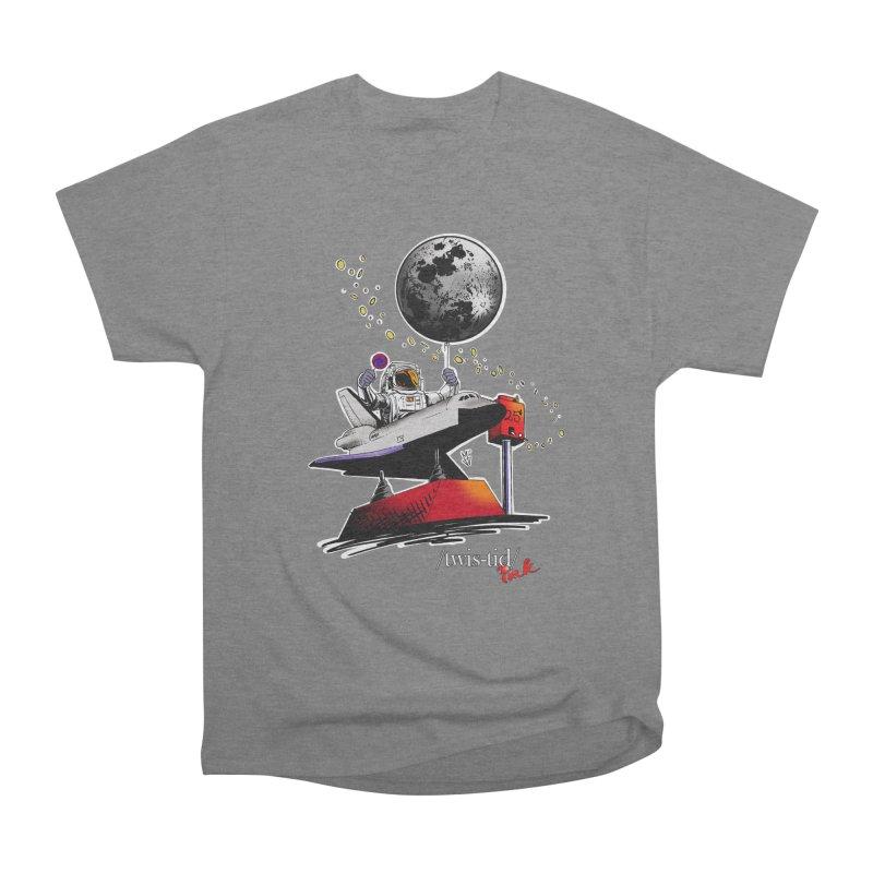 Twistid Space Women's Heavyweight Unisex T-Shirt by Twistid ink's Artist Shop