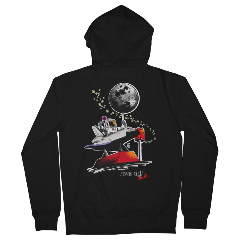 Twistid Space Men's Zip-Up Hoody by Twistid ink's Artist Shop