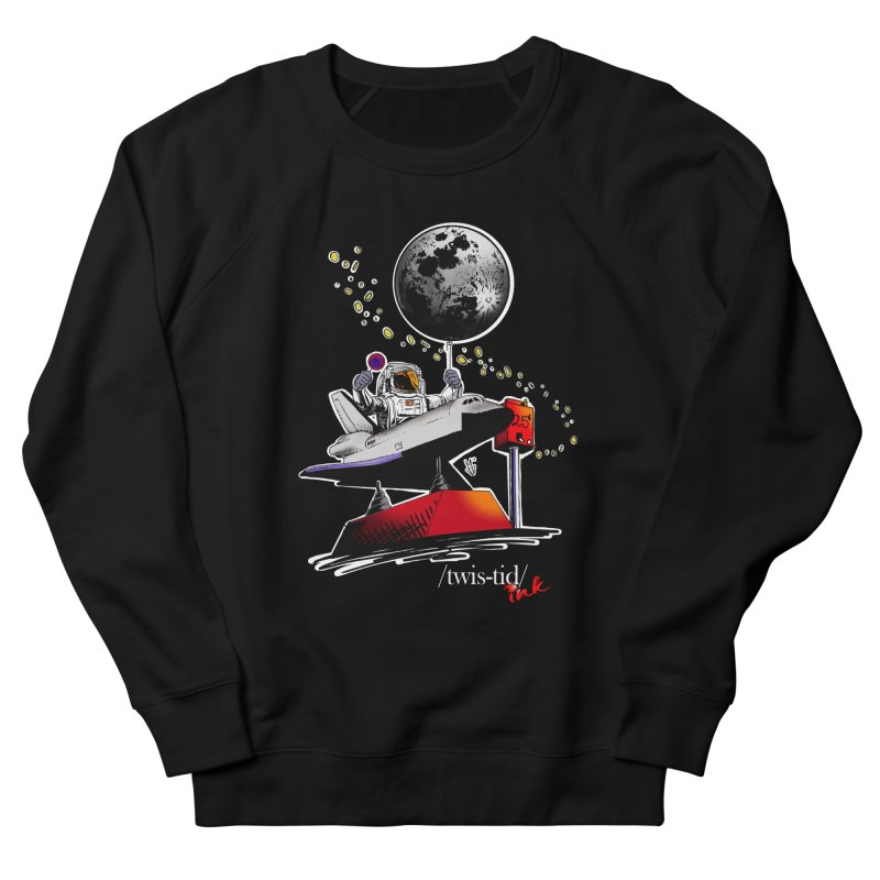 Twistid Space Women's French Terry Sweatshirt by Twistid ink's Artist Shop