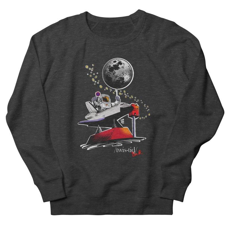 Twistid Space Men's French Terry Sweatshirt by Twistid ink's Artist Shop