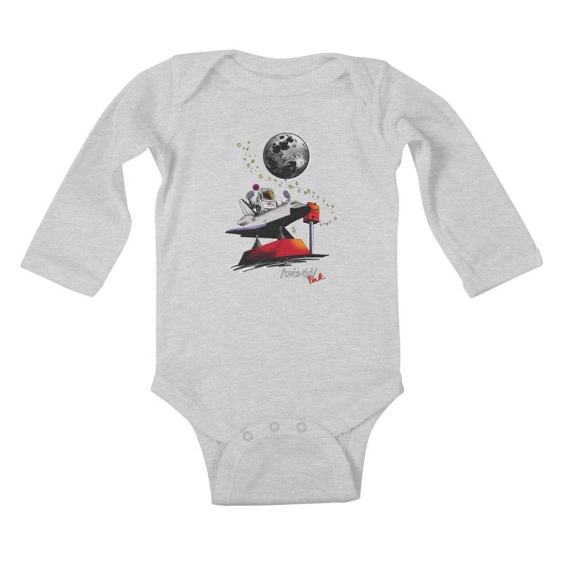 Twistid Space Kids Baby Longsleeve Bodysuit by Twistid ink's Artist Shop