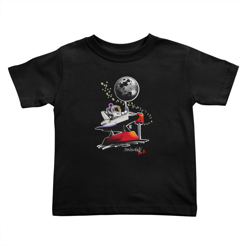 Twistid Space Kids Toddler T-Shirt by Twistid ink's Artist Shop