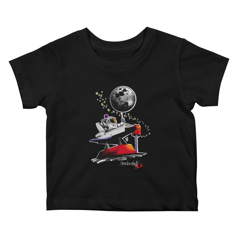 Twistid Space Kids Baby T-Shirt by Twistid ink's Artist Shop