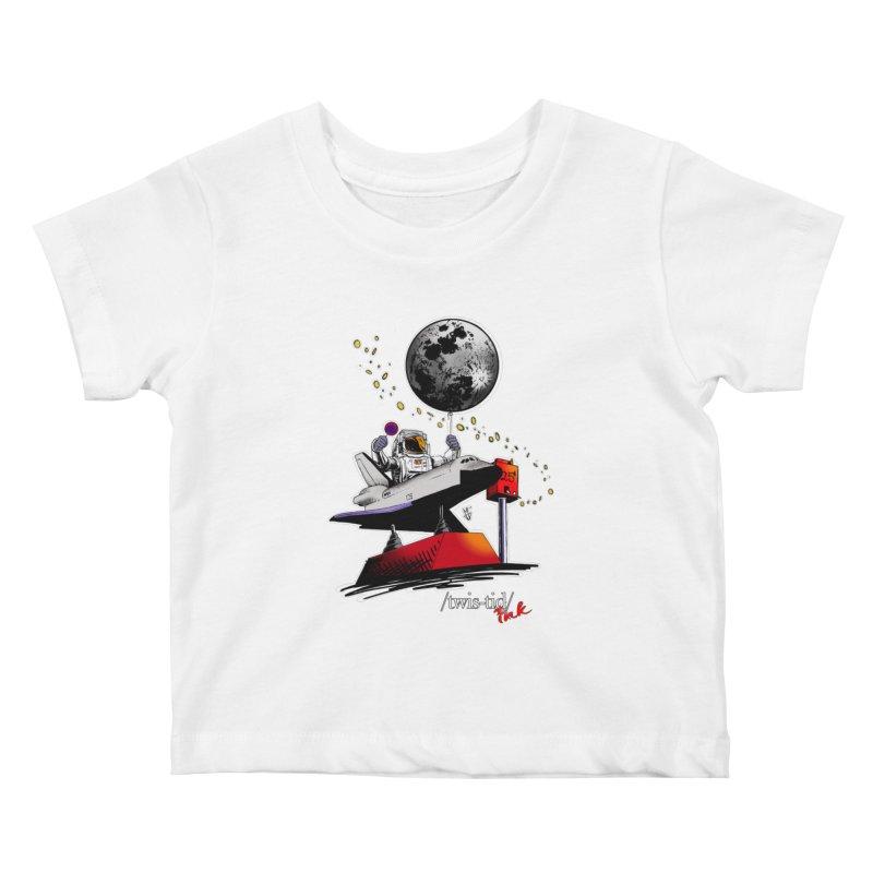 Twistid Space Kids Baby T-Shirt by Twistid ink's Artist Shop
