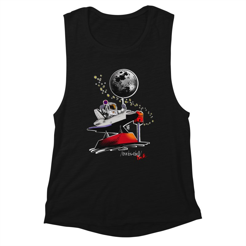 Twistid Space Women's Tank by Twistid ink's Artist Shop