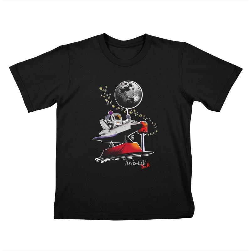 Twistid Space Kids T-Shirt by Twistid ink's Artist Shop