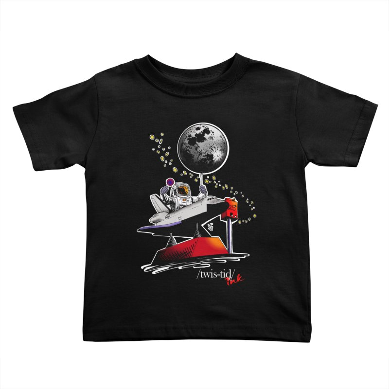 Twistid Space Kids Toddler T-Shirt by Twistid ink's Artist Shop