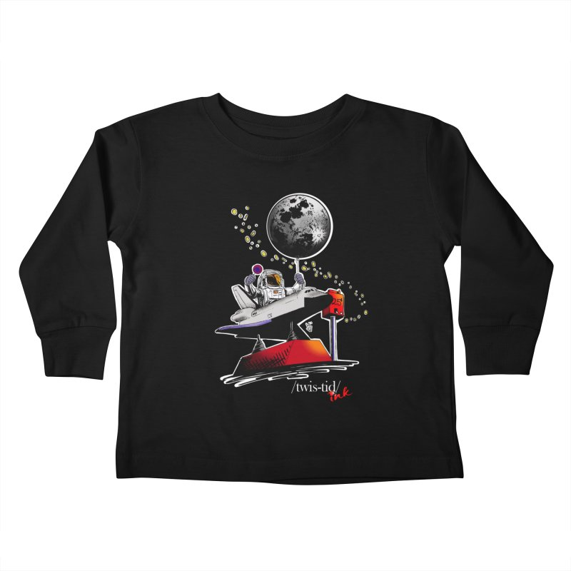 Twistid Space Kids Toddler Longsleeve T-Shirt by Twistid ink's Artist Shop