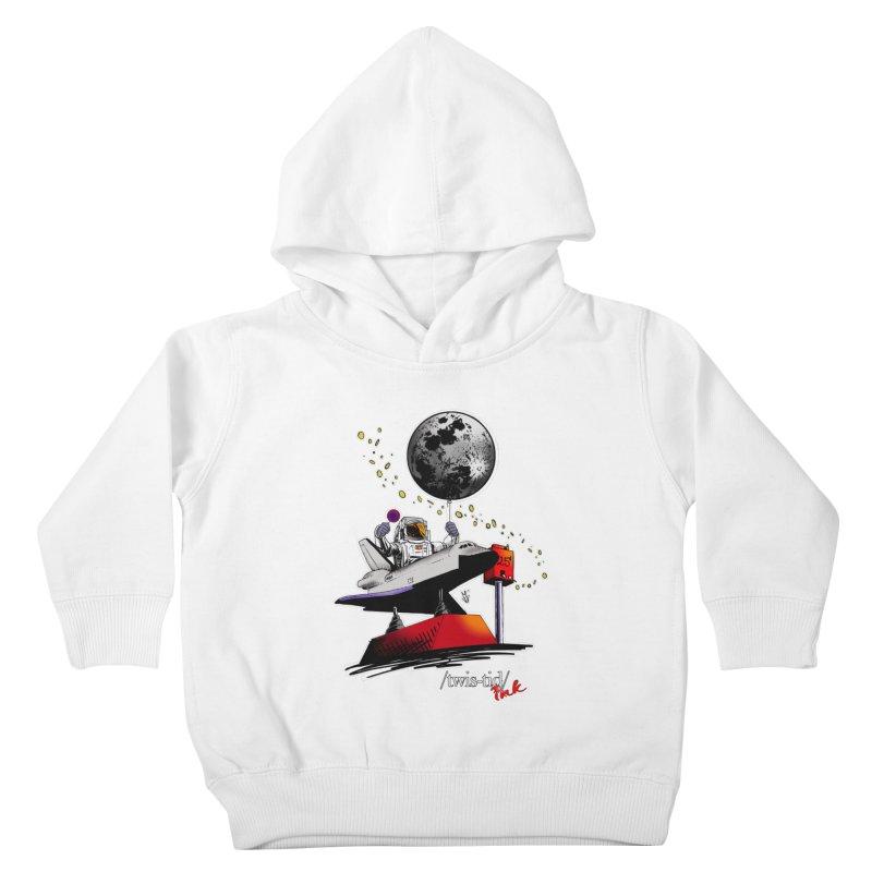 Twistid Space Kids Toddler Pullover Hoody by Twistid ink's Artist Shop