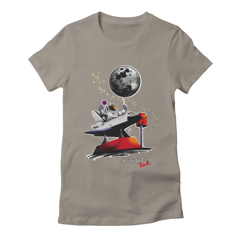 Twistid Space Women's Fitted T-Shirt by Twistid ink's Artist Shop