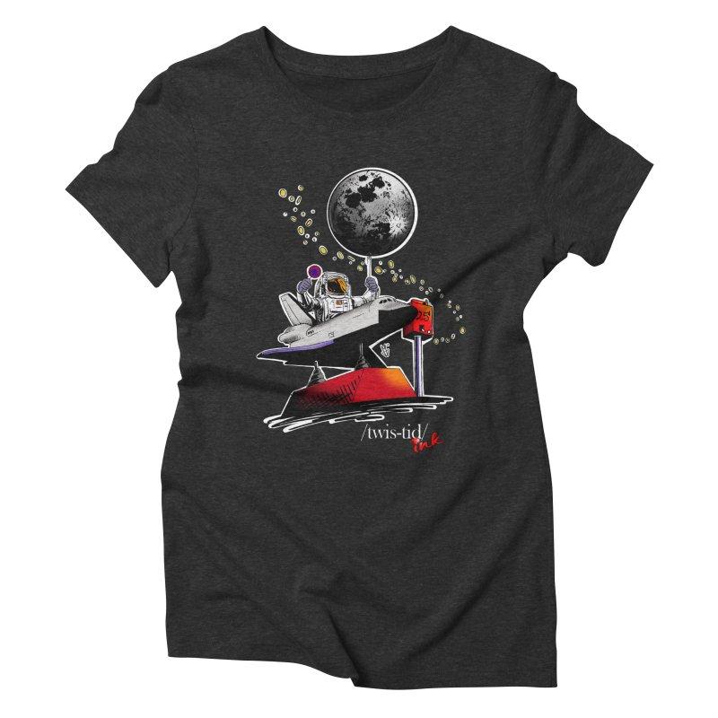 Twistid Space Women's Triblend T-Shirt by Twistid ink's Artist Shop