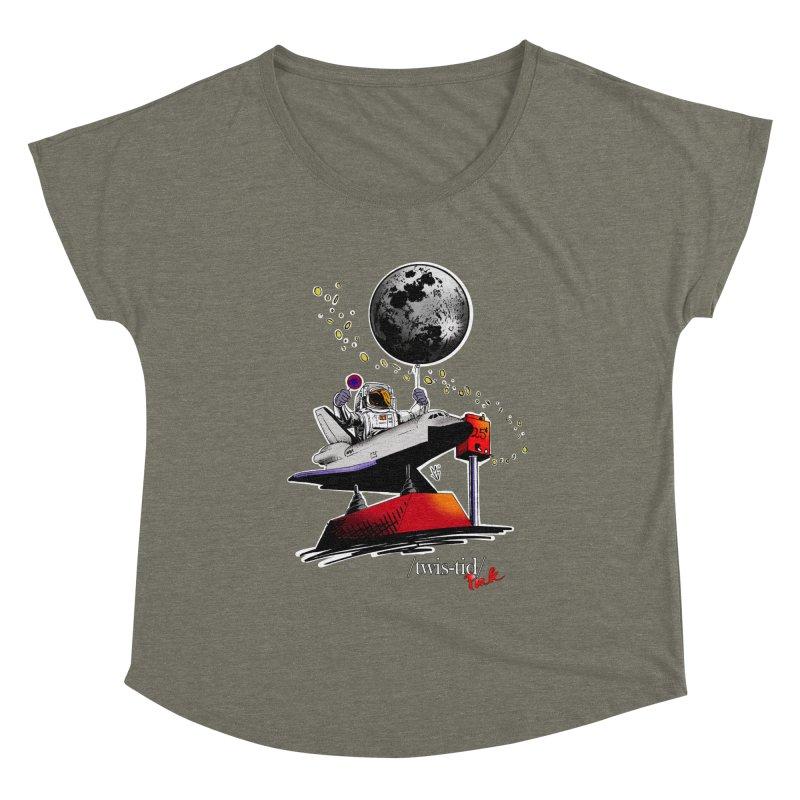 Twistid Space Women's Scoop Neck by Twistid ink's Artist Shop