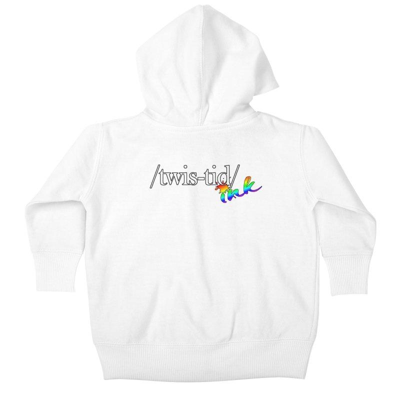 Pride Twistid Kids Baby Zip-Up Hoody by Twistid ink's Artist Shop