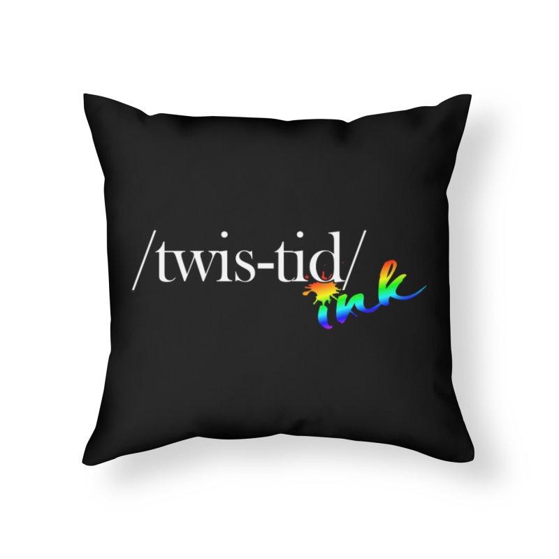 Pride Twistid Home Throw Pillow by Twistid ink's Artist Shop