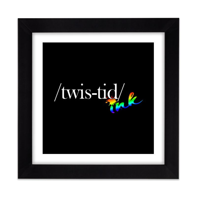 Pride Twistid Home Framed Fine Art Print by Twistid ink's Artist Shop