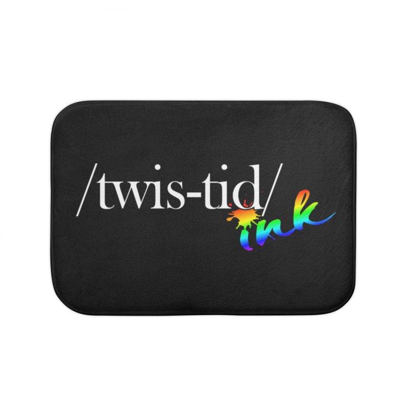Pride Twistid Home Bath Mat by Twistid ink's Artist Shop