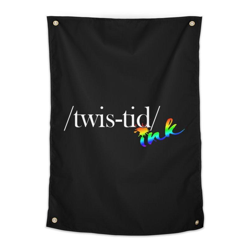 Pride Twistid Home Tapestry by Twistid ink's Artist Shop