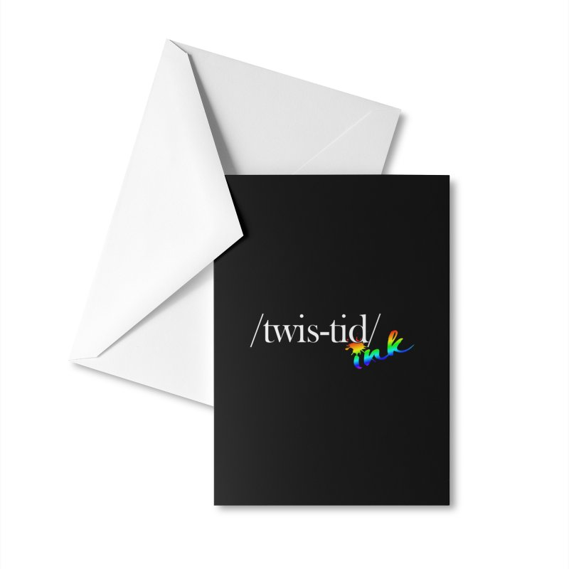 Pride Twistid Accessories Greeting Card by Twistid ink's Artist Shop