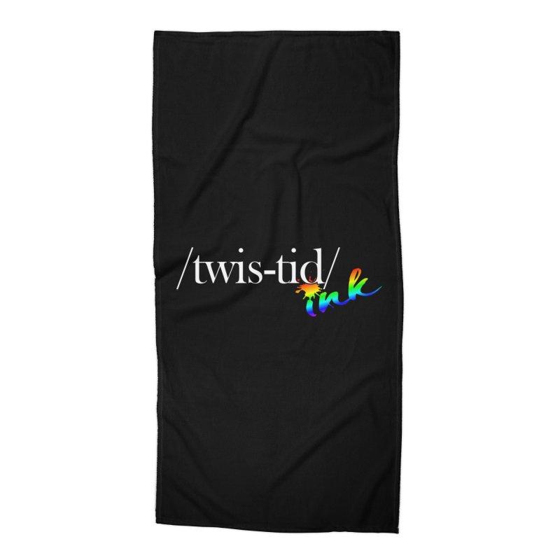 Pride Twistid Accessories Beach Towel by Twistid ink's Artist Shop