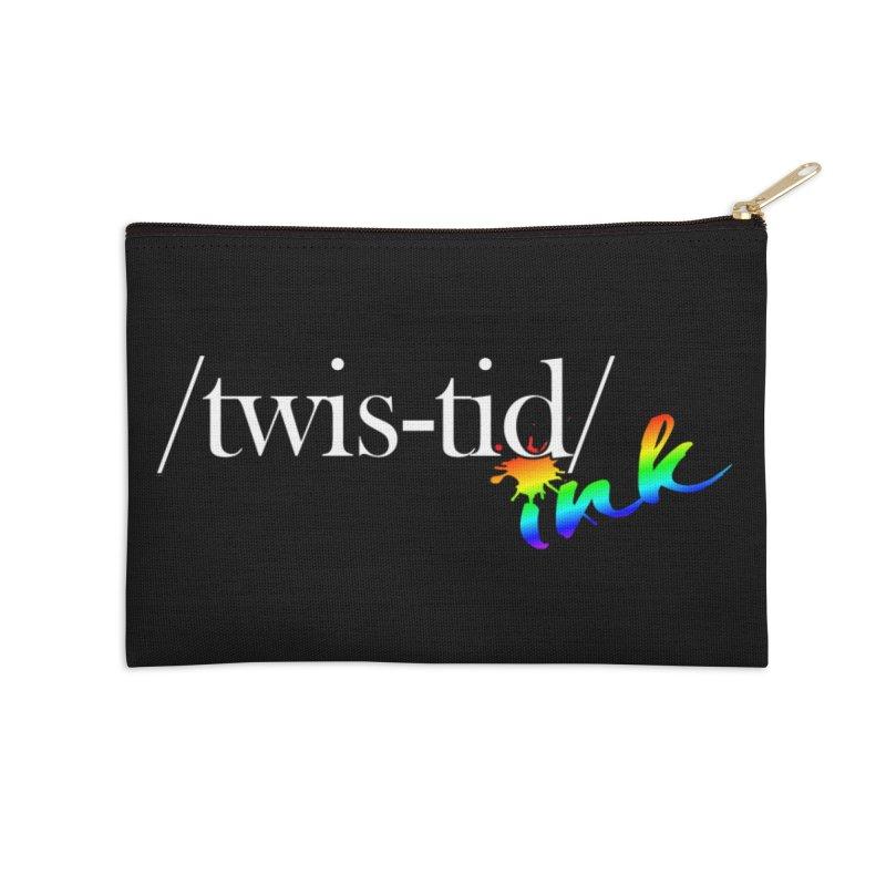 Pride Twistid Accessories Zip Pouch by Twistid ink's Artist Shop