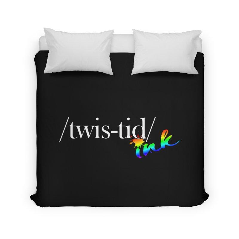 Pride Twistid Home Duvet by Twistid ink's Artist Shop