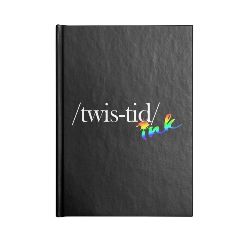 Pride Twistid Accessories Notebook by Twistid ink's Artist Shop