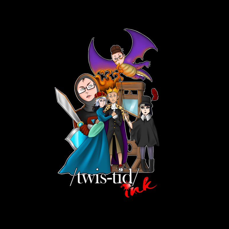 Twistid characters team Home Blanket by Twistid ink's Artist Shop