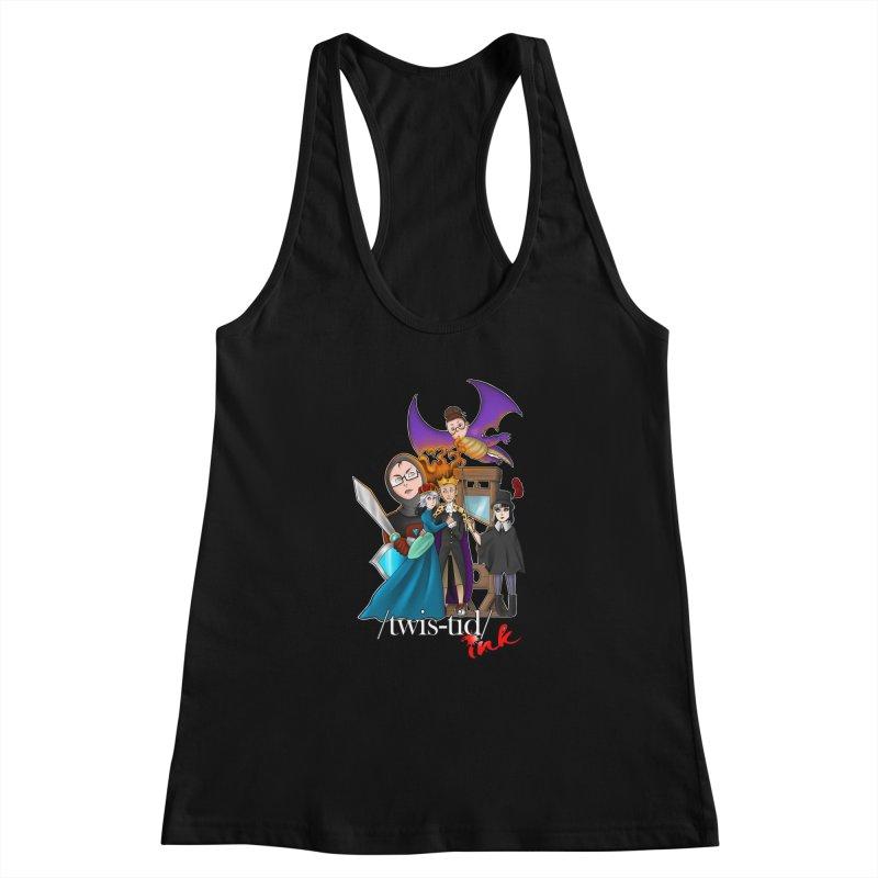 Twistid characters team Women's Tank by Twistid ink's Artist Shop