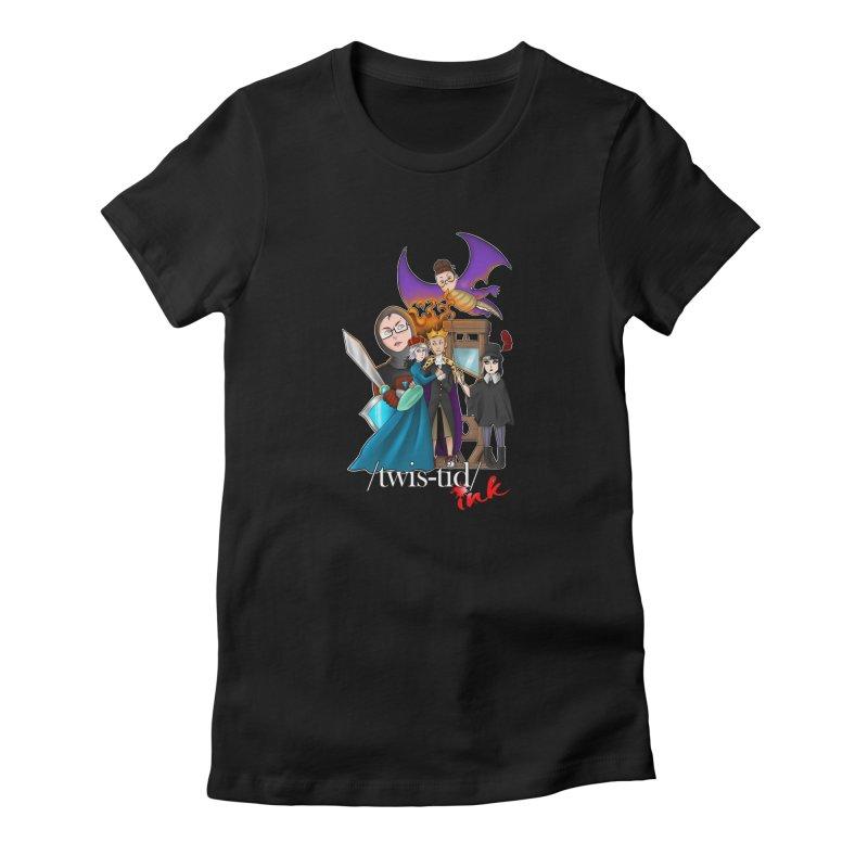 Twistid characters team Women's T-Shirt by Twistid ink's Artist Shop
