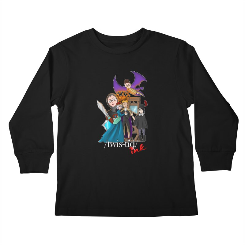 Twistid characters team Kids Longsleeve T-Shirt by Twistid ink's Artist Shop
